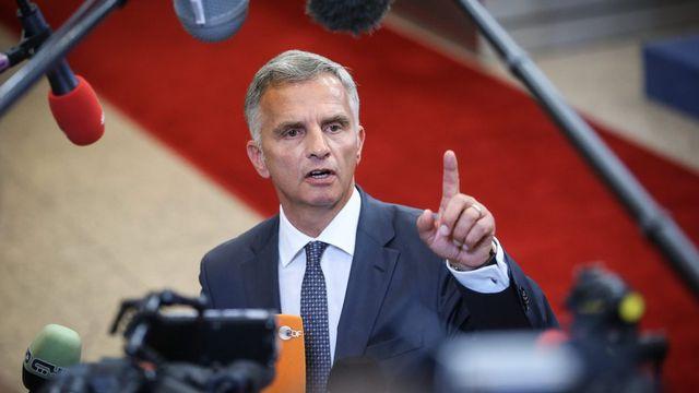 Didier Burkhalter, la nouvelle star de Bruxelles [EPA/Olivier Hoslet - Keystone]