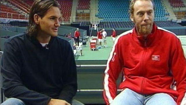 Roger Federer et Marc Rosset réunis à Zig Zag Café.
