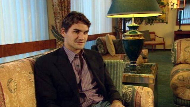 Roger Federer revient sur les temps forts de sa carrière.