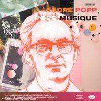 La pochette de l'album 'Popp Musique' sorti en 2001. [Tricatel]