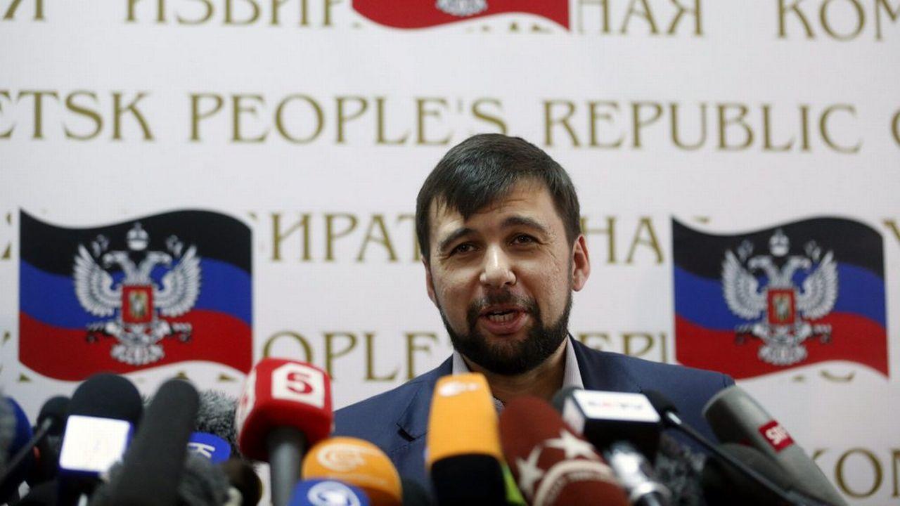 Denis Pouchiline, l'un des responsables séparatistes de Donetsk [EPA/MAXIM SHIPENKOV - Keystone]