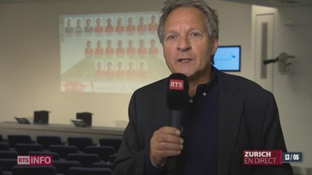 Equipe suisse - Coupe du Monde: les précisions de Pierre-Alain Dupuis [RTS]