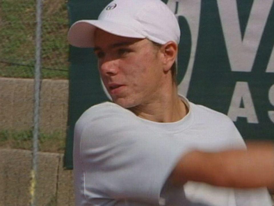 Stanislas Wawrinka en 2002. [RTS]