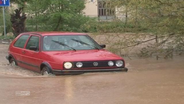 Inondations en Bosnie-Herzegovine [RTS]
