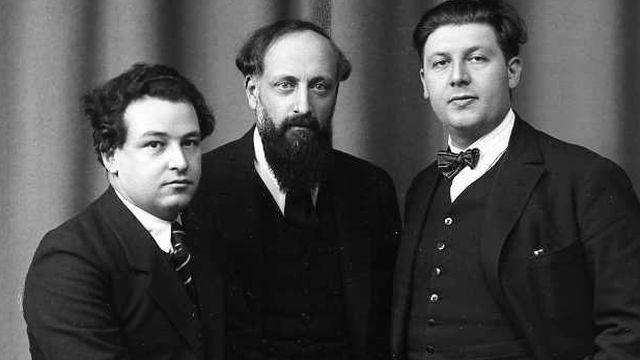 Ernest Ansermet, Arthur Honegger, Roland Manuel