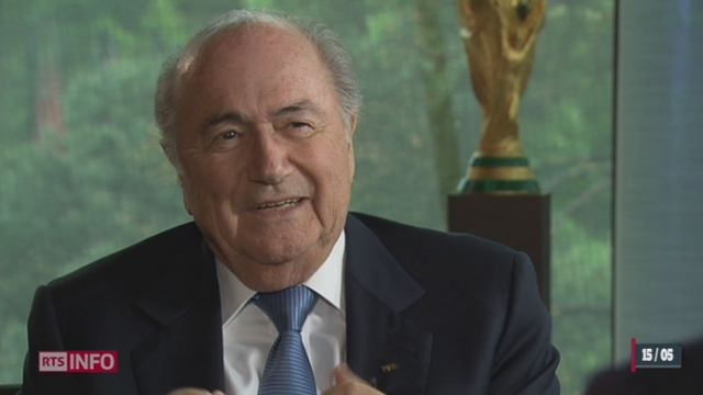 FIFA: entretien avec Sepp Blatter, président de la FIFA [RTS]