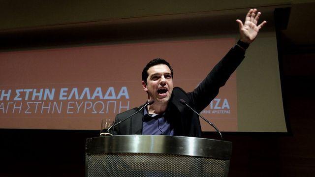 Alexis Tsipras: né le 28 juillet 1974 à Athènes, en Grèce. Il est le candidat du Parti de la gauche européenne. [Simela Pantzartzi - Keystone]