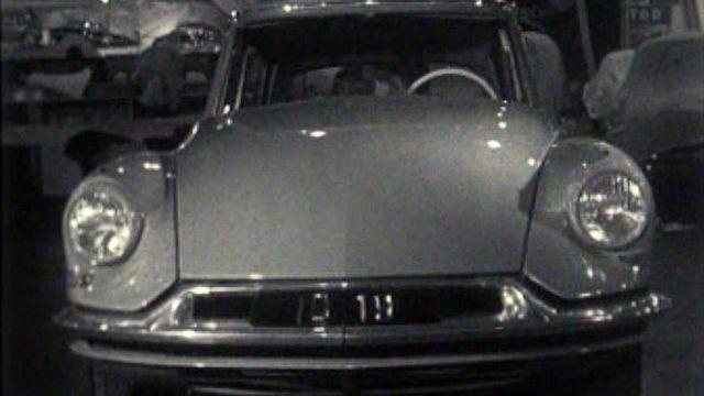 Le lancement de la Citroën DS ouvre une nouvelle ère.