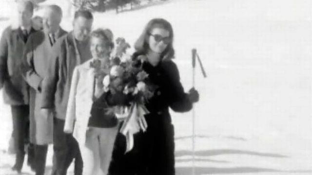 Vacances en Valais pour l'ex-première dame des Etats-Unis. [RTS]