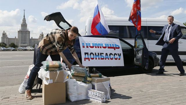 Détérioration alarmante des droits de l'homme en Ukraine [EPA/YURI KOCHETKOV - Keystone]