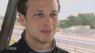24 heures du Mans: le Genevois Gary Hirsch va découvrir la course mythique aux côtés d'une équipe romande [RTS]