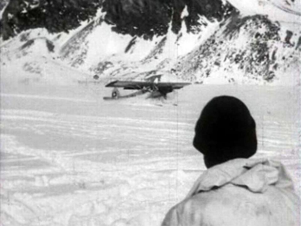 Exercice périlleux de sauvetage dans les Alpes valaisannes.