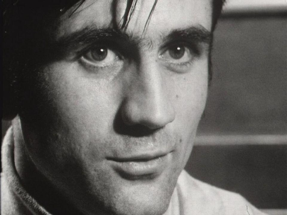 Le hockeyeur René Huguenin en 1970. [RTS]