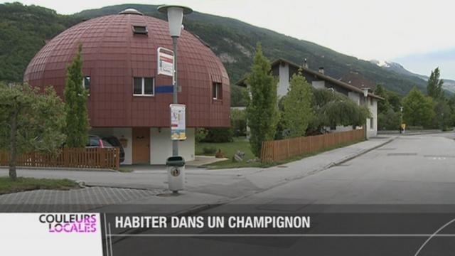 Vs la maison de la famille jacquod bramois voque for Champignon facade maison
