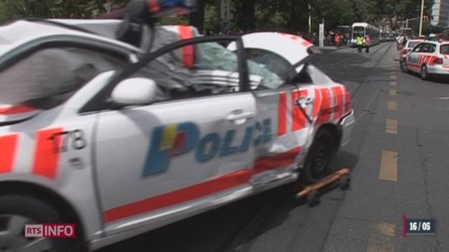"""Sécurité routière: le programme """"Via sicura"""" dérange la police [RTS]"""