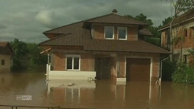 Inondations sans précédent en Serbie [RTS]