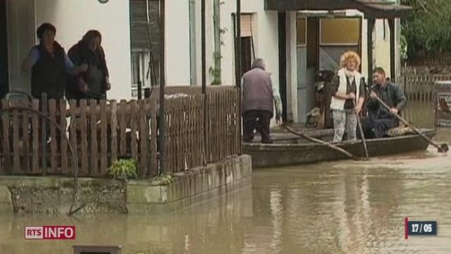 Bosnie - Serbie: au moins 14 personnes sont mortes dans des inondations records [RTS]