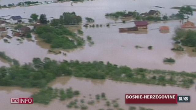 Les inondations qui ravagent une partie des Balkans ont atteint un niveau historique [RTS]