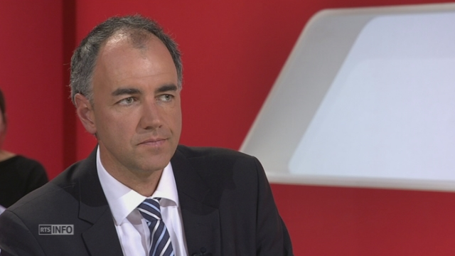 Les présidents de parti s'expriment au sujet de l'initiative Marche blanche [RTS]