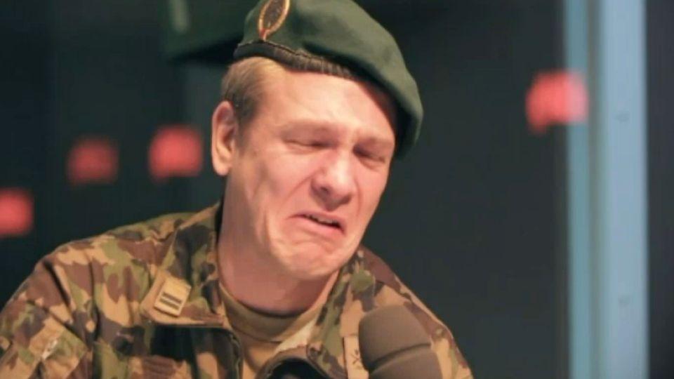 Le lieutenant-colonel Karl-Heinz Inäbnit. [RTS]