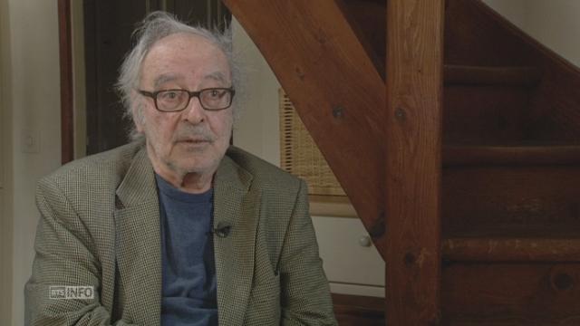 Jean-Luc Godard revient sur sa carrière et sa « légende » [RTS]