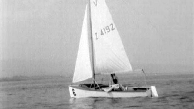 Un des voiliers les plus simples et les plus attachants du lac. [RTS]