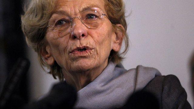 Emma Bonino, ancienne ministre italienne des Affaires étrangères. [Bilal Jawich - Anadolu Agency/AFP]