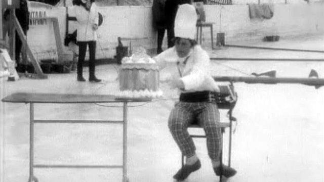 """Les jeux """"interneiges"""" de Montana et ses tartes à la crème."""