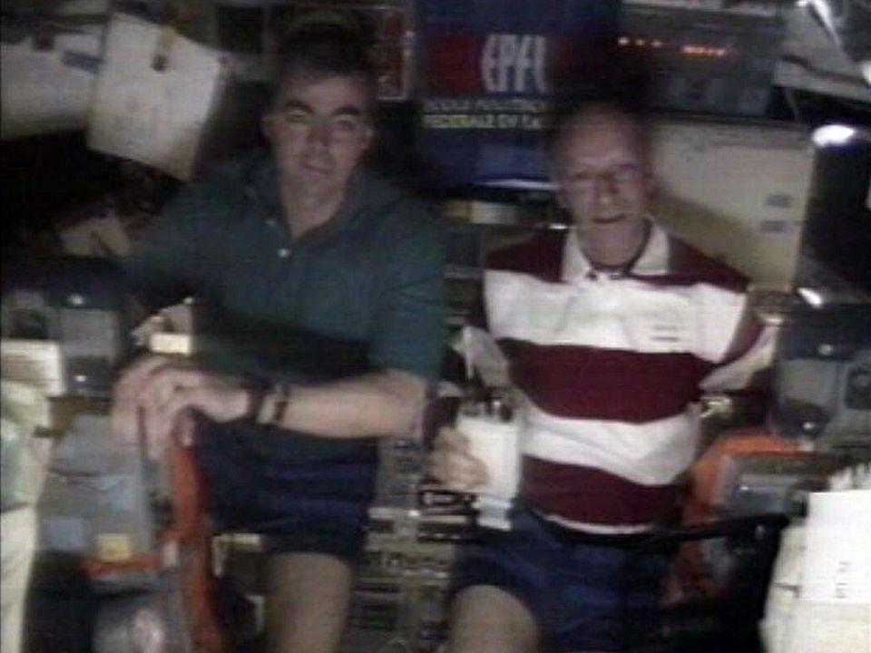 Un duplex dans l'espace avec l'astronaute Claude Nicollier.