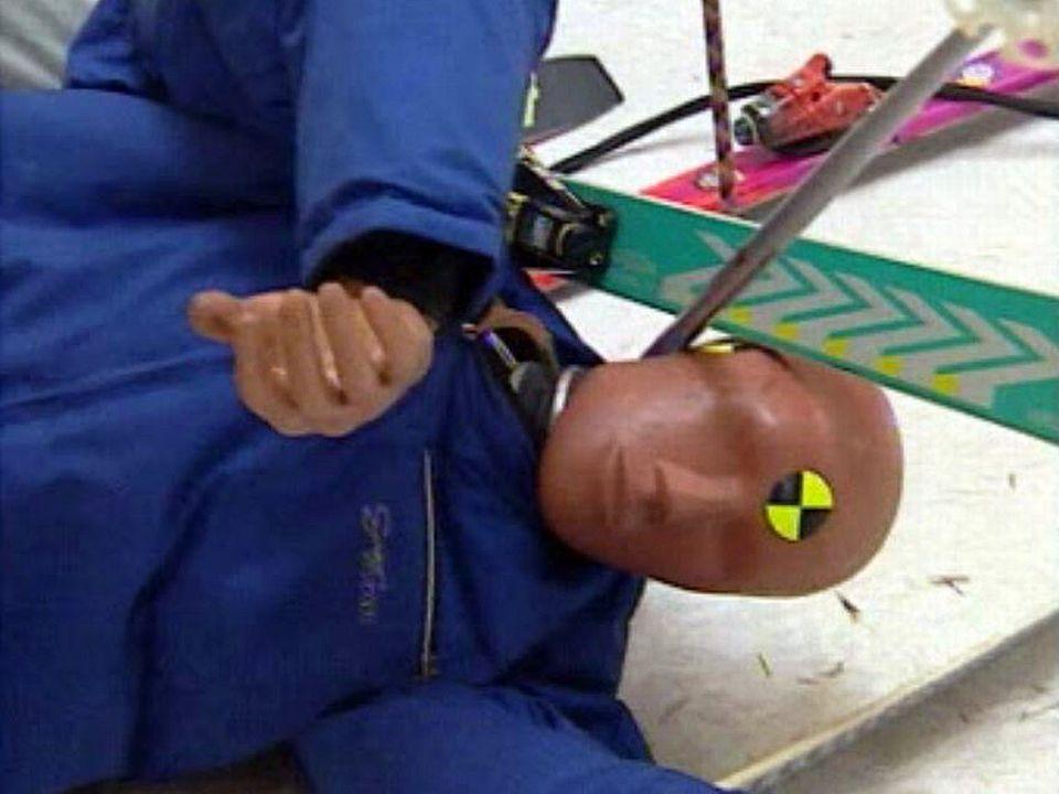 Les accidents à ski augmentent avec la vitesse et le matériel performant.