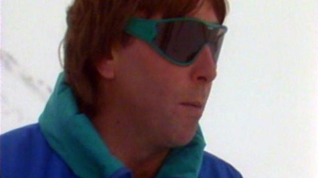 Roland Collombin a failli perdre la vie à Val d'Isère.