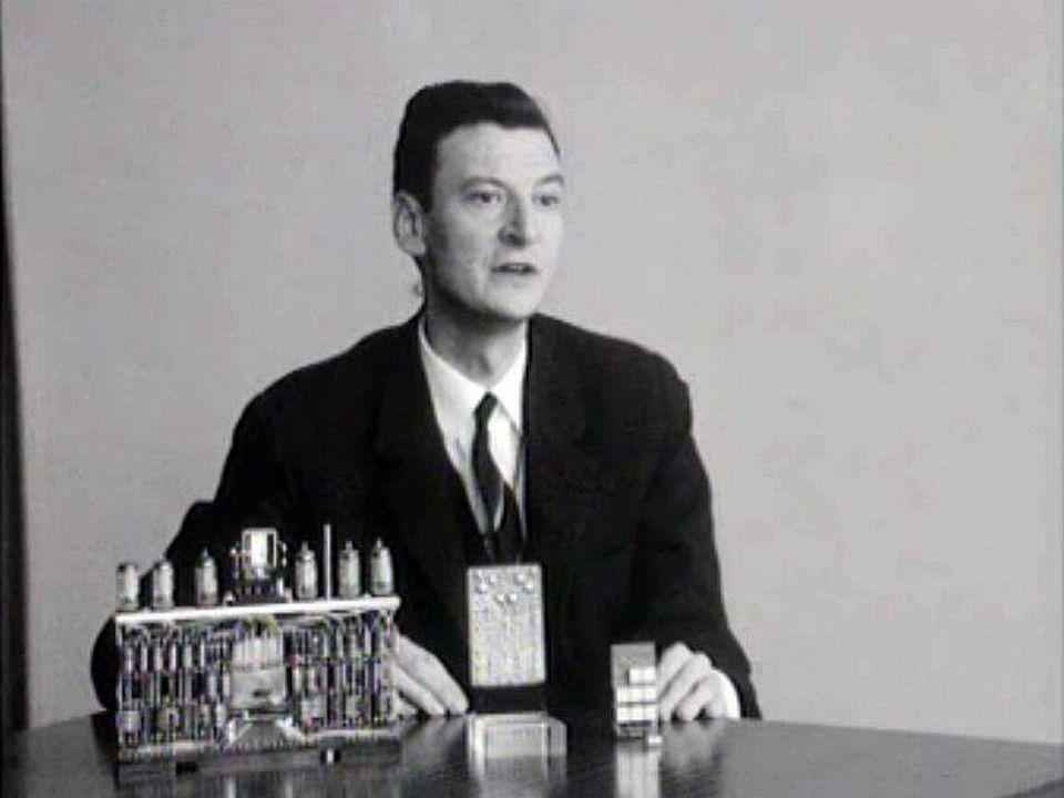 En 1966, la technologie des ordinateurs est déjà bien avancée.