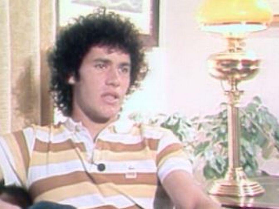 Yvan Dupasquier en 1982 [RTS]