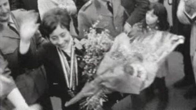Fernande Bochatay en 1968 [RTS]