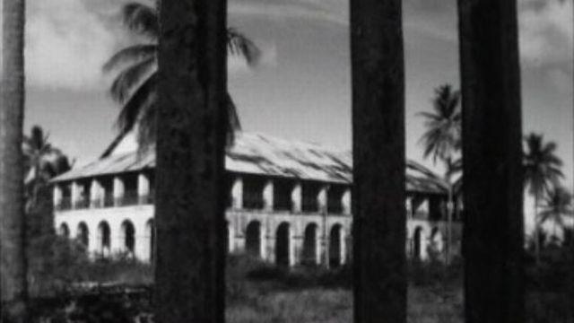 Le bagne de Cayenne en Guyane en 1963. [RTS]