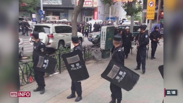 Chine: un nouvel attentat sur un marché d'Urumqi fait 31 morts [RTS]