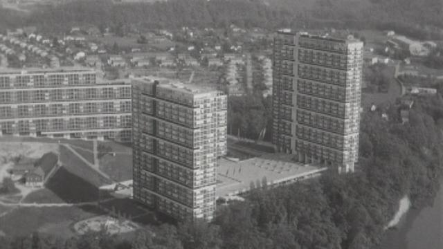 L'éclatement des villes dans les cités dortoir. [RTS]