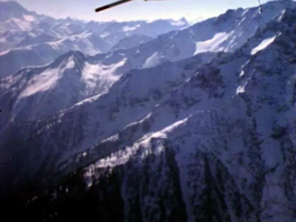 Bruno Bagnoud aux commandes pour traverser les Alpes.