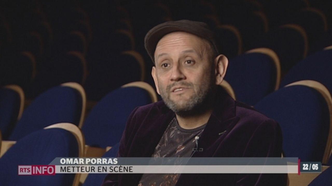 Le metteur en scène, comédien et danseur Omar Porras a reçu le Grand Prix suisse du théâtre [RTS]