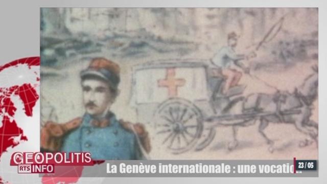 La Genève internationale célèbre ses 150 ans [RTS]