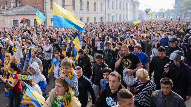 L'oblast de Dnepropetrovsk n'a pas connu les mêmes débordements que les régions voisines. [Olga Ivashchenko - Keystone]