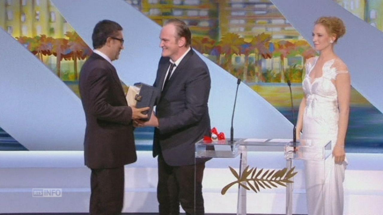 Attribution des prix à Cannes [RTS]