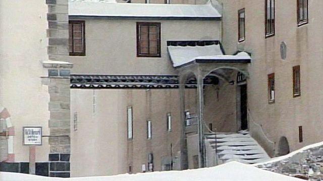 L'hospice du Grand-Saint-Bernard, haut-lieu d'hospitalité. [RTS]