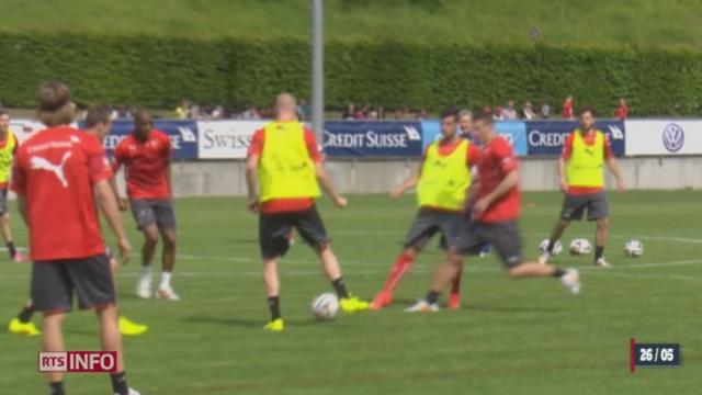 Football - Coupe du Monde: l'équipe de Suisse au complet est réunie à Weggis [RTS]