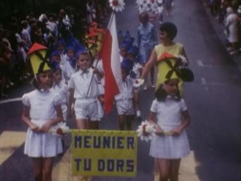Fête du Bois à Lausanne. [RTS]