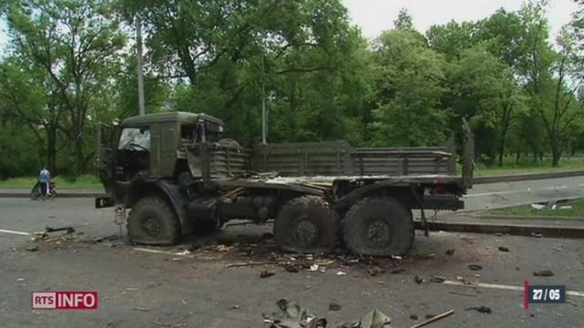 Ukraine: quatre observateurs de l'OSCE sont portés disparus, dont un Suisse [RTS]