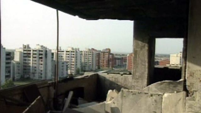 Un conflit en Europe: la partition de l'ex-Yougoslavie.