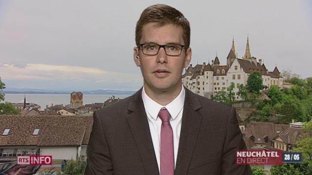 Salaire minimum à Neuchâtel: les explications d'Adrien Kay, à Neuchâtel [RTS]