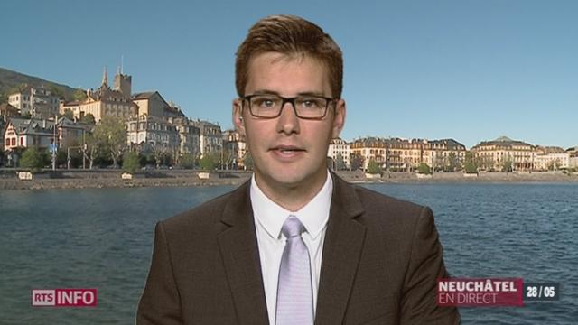 Salaire minimum dans le canton de Neuchâtel: le point avec Adrien Kay, à Neuchâtel [RTS]