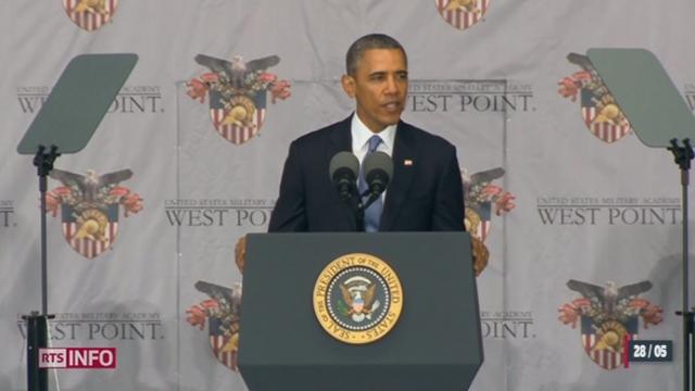 Barack Obama défend sa politique étrangère, à l'heure du désengagement en Afghanistan [RTS]